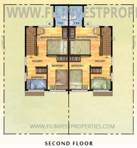 Opal Duplex Floor Plan Second Floor