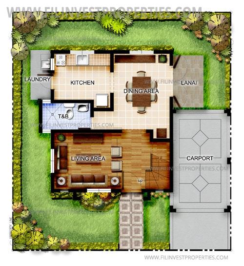 The Tropics 2, Daphne House Model (Ground Floor)