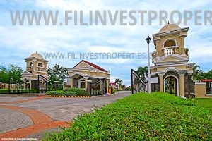 House and lot in San Rafael Bulacan Filinvest Verna San Rafael Estates entrance