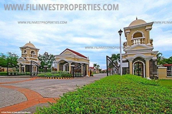 House and lot in San Rafael Bulacan Filinvest Verna San Rafael Estates entrance