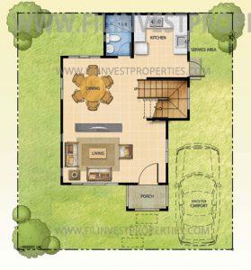 The Tropics 2, Tulip House Model (Ground Floor)